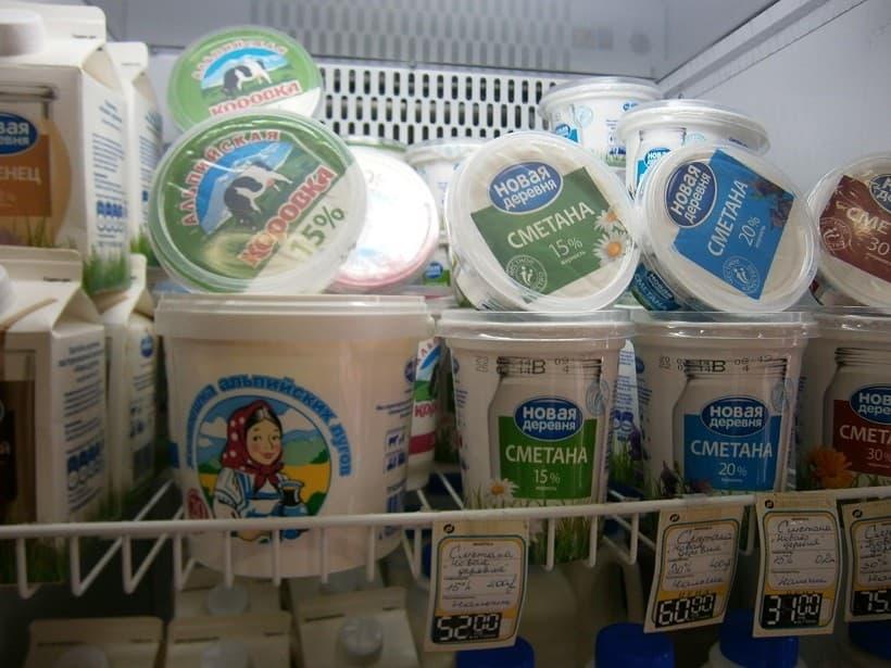 Самые популярные молочные продукты