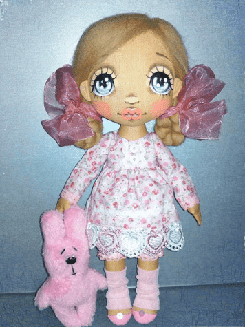 Рисунок 1 Пример куклы ручной работы (NataliDolls)