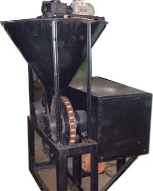 Пресс станок для брикетов из угольного отсева 133