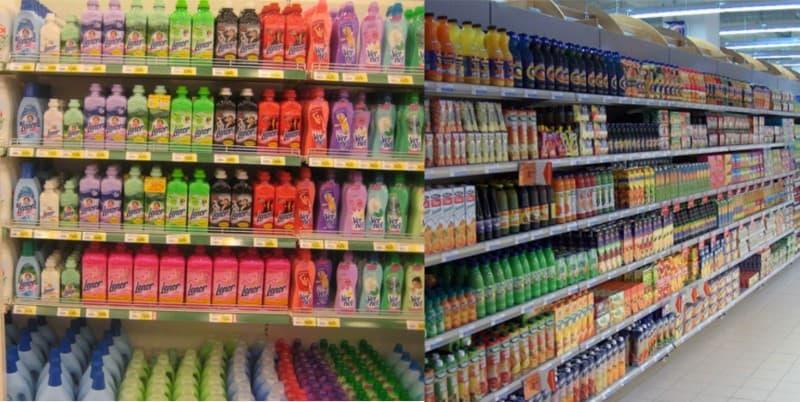 выкладка товара в продуктовом магазине фото