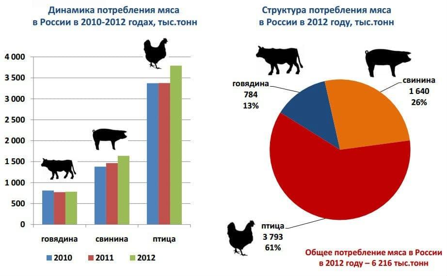 Крупнейшие производители мяса в мире