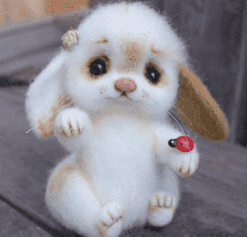 Рисунок 17 Валяная игрушка от valyanie_spb