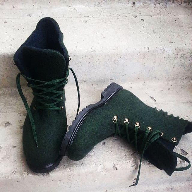 Рисунок 18 Валяные ботинки от lusine_aznauryan