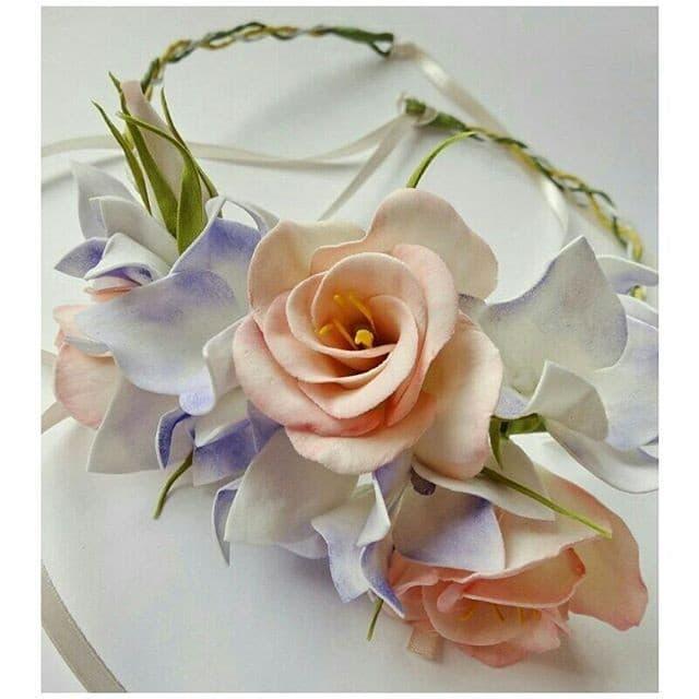 Рисунок 25 Объемный ободок от florals_spb