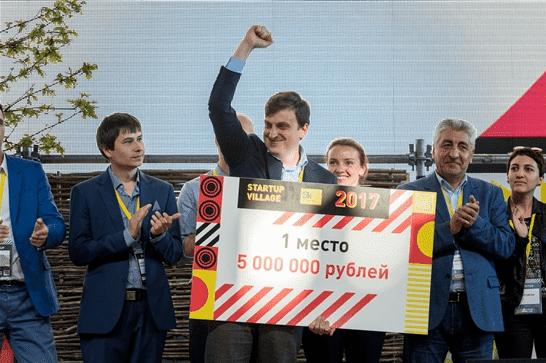 Компания «Айвикс»: первое место на Startup Village 2017 и приз 5 млн. рублей. Источник: startupvillage.ru