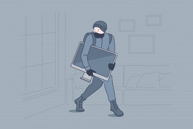 Фото: факт хищения – не дает основание для отстранения от работы. Источник: freepik.com/drawlab19