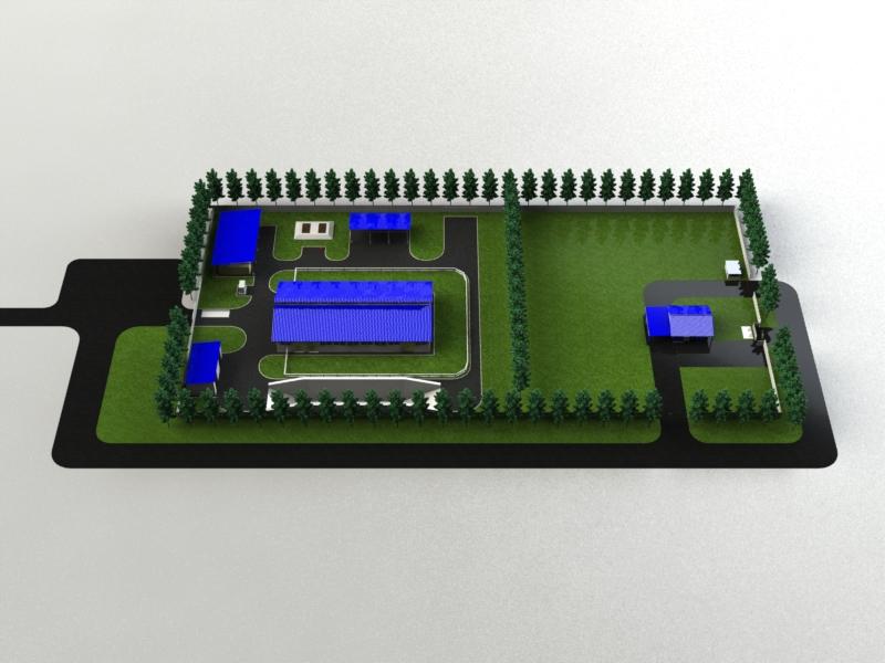 План мини завода фирмы
