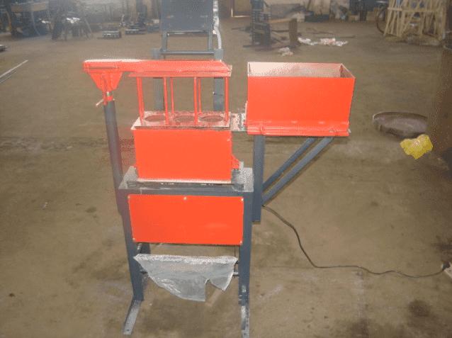 Рисунок 1. Простейший стационарный ручной станок с рычажным механизмом.