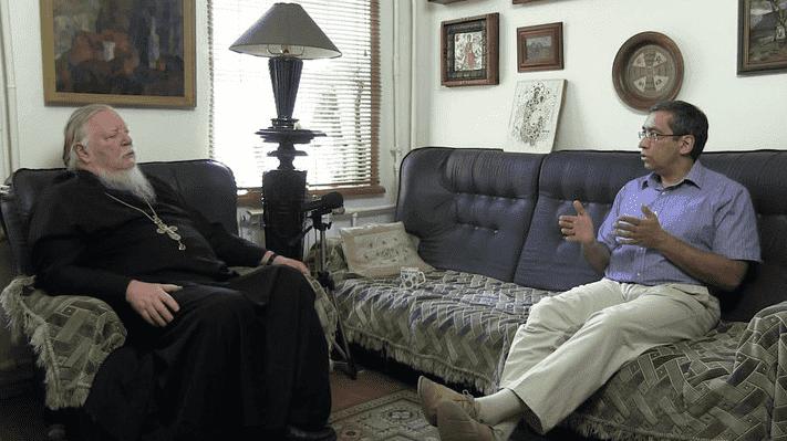 Рисунок 9. Беседа с протоиереем Дмитрием об идеологической основе государства. Источник: Мультимедийный блог протоиерея Дмитрия