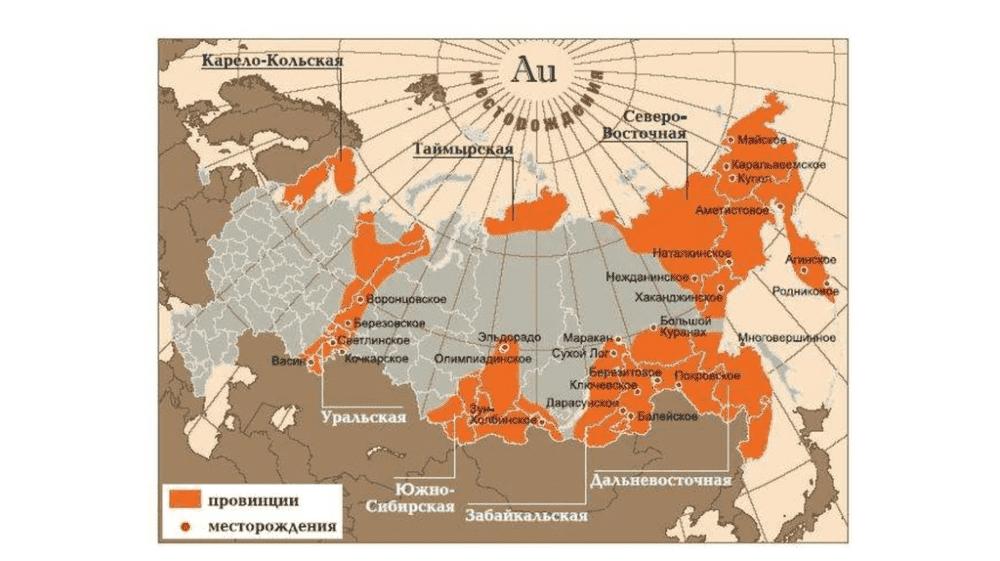 какое место россия занимает по золоту