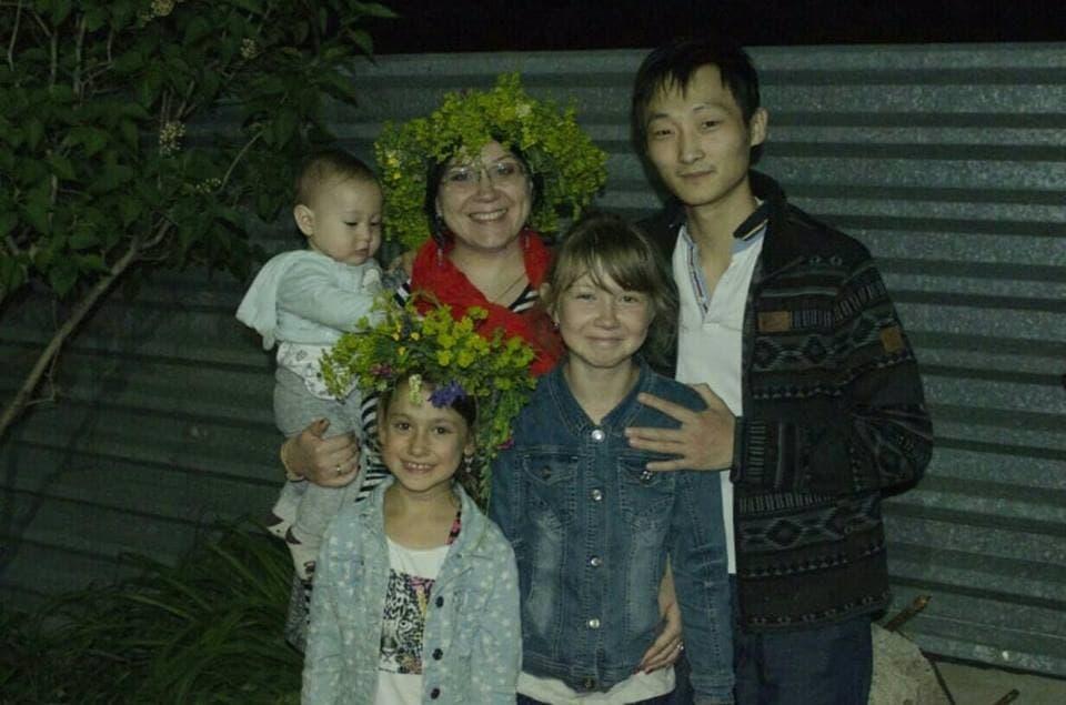 Фото 11. Семья – главная поддержка Елены. Источник: facebook.com