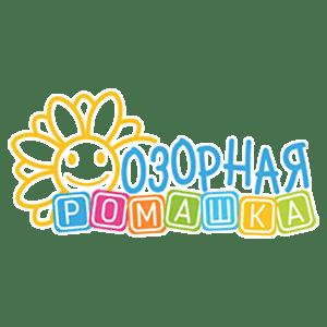 Рис. 5. Логотип центра «Озорная ромашка»