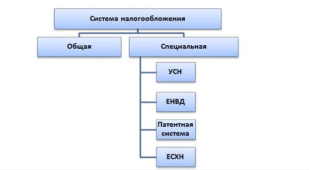 Рис. 1. Система налогообложения