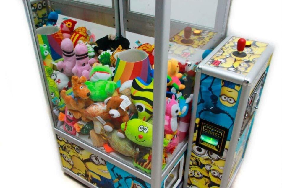 игровые аппараты краны игрушки