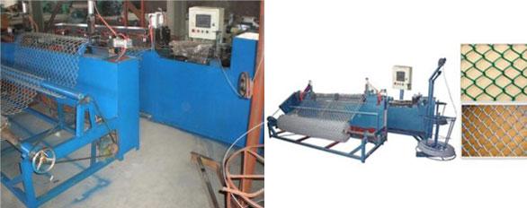 китайский станок для производства сетки-рабицы