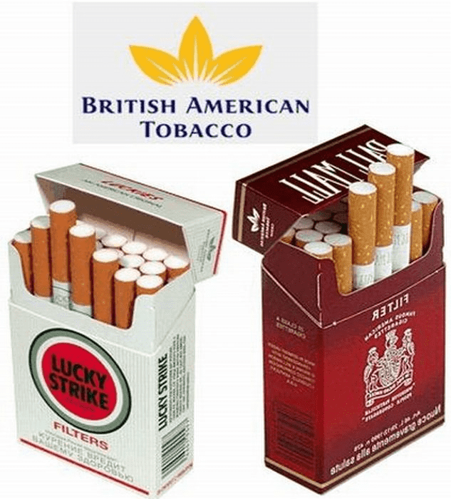 Рис. 3. Образцы продукции British American Tobacco. Источник: сайт smokersnews.net